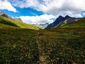 поход через перевал аишха