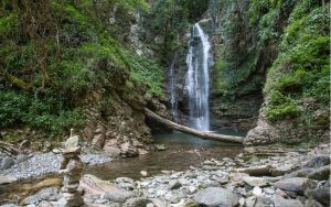 ажекские водопады